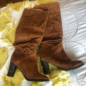 Free People Brown Suede boots